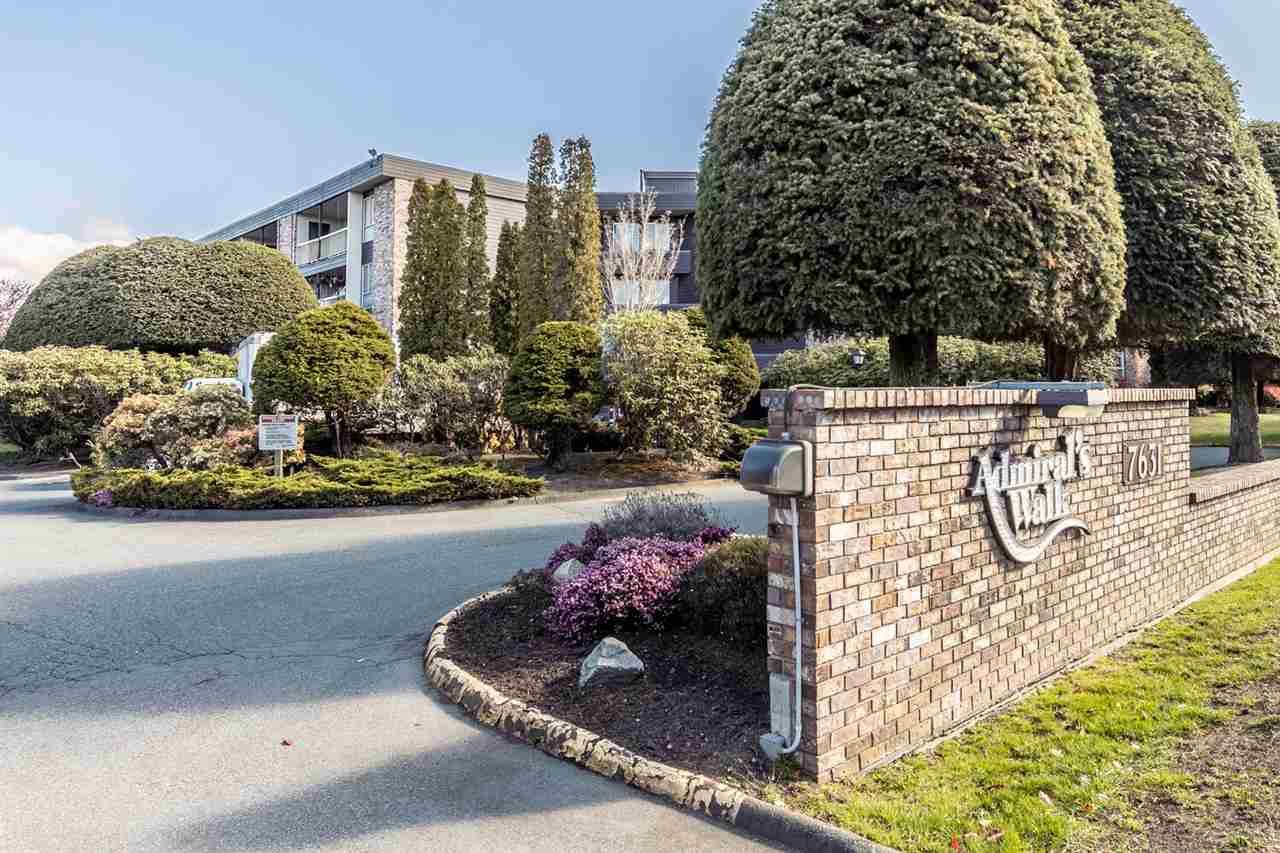 "Main Photo: 319 7631 STEVESTON Highway in Richmond: Broadmoor Condo for sale in ""ADMIRAL'S WALK"" : MLS®# R2562146"