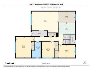 Photo 31: 14433 McQueen Road in Edmonton: Zone 21 House Half Duplex for sale : MLS®# E4257256
