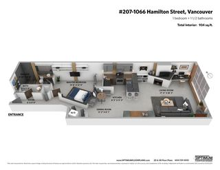 """Photo 24: 207 1066 HAMILTON Street in Vancouver: Yaletown Condo for sale in """"NEW YORKER"""" (Vancouver West)  : MLS®# R2583496"""