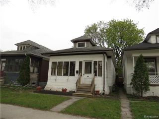 Photo 1: 386 Morley Avenue in WINNIPEG: Manitoba Other Residential for sale : MLS®# 1512453