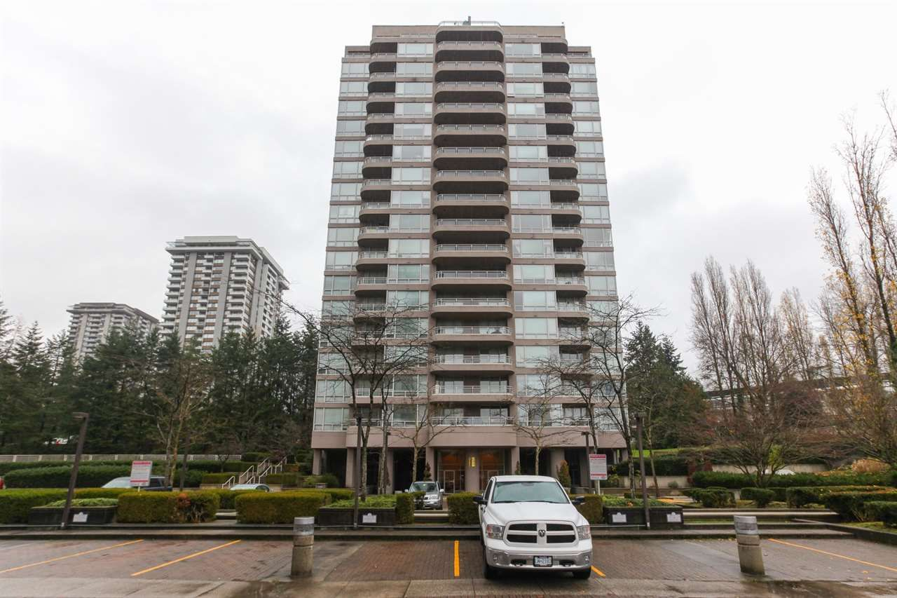 """Main Photo: 1503 9633 MANCHESTER Drive in Burnaby: Cariboo Condo for sale in """"STRATHMORE TOWERS"""" (Burnaby North)  : MLS®# R2227142"""