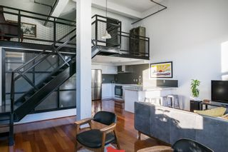 """Main Photo: 406 549 COLUMBIA Street in New Westminster: Downtown NW Condo for sale in """"C2C Lofts"""" : MLS®# R2568898"""