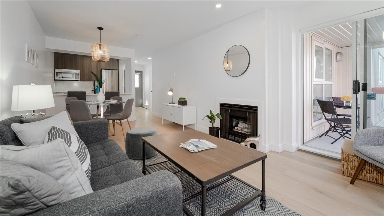 """Main Photo: 19 704 W 7TH Avenue in Vancouver: Fairview VW Condo for sale in """"Heather Park"""" (Vancouver West)  : MLS®# R2568826"""