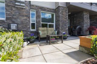 "Photo 1: 103 1212 MAIN Street in Squamish: Downtown SQ Condo for sale in ""Aqua"" : MLS®# R2166524"