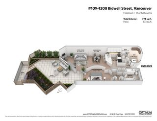 """Photo 24: 109 1208 BIDWELL Street in Vancouver: West End VW Condo for sale in """"Baybreeze"""" (Vancouver West)  : MLS®# R2541358"""