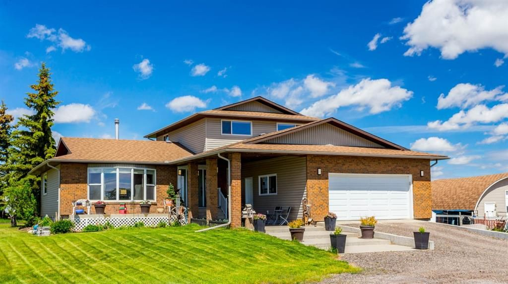4-Level split level home with 1800 sq ft developed living area
