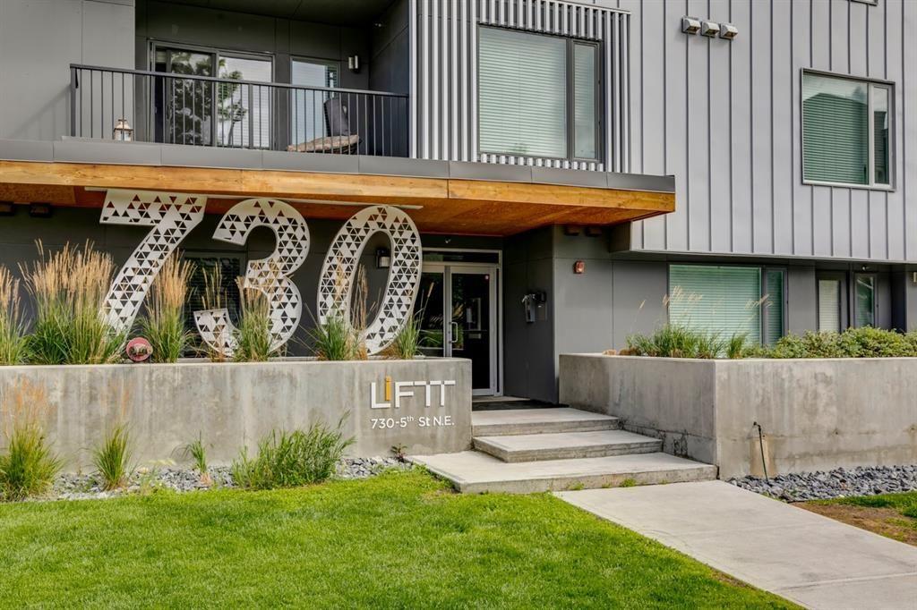 Main Photo: 408 730 5 Street NE in Calgary: Renfrew Apartment for sale : MLS®# A1143891