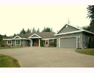 """Photo 1: 815 SPENCE Way: Anmore House for sale in """"ANMORE"""" (Port Moody)  : MLS®# V679322"""