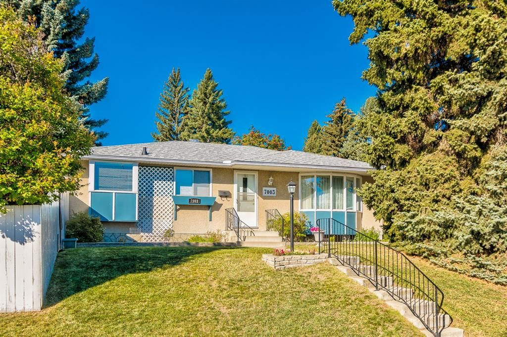 Main Photo: 7003 Hunterview Drive NW in Calgary: Huntington Hills Detached for sale : MLS®# A1148767