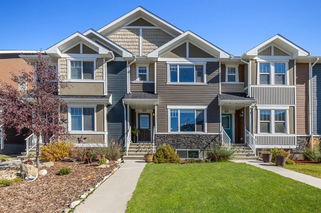 Main Photo: 155 Fireside Parkway: Cochrane Row/Townhouse for sale : MLS®# A1150208