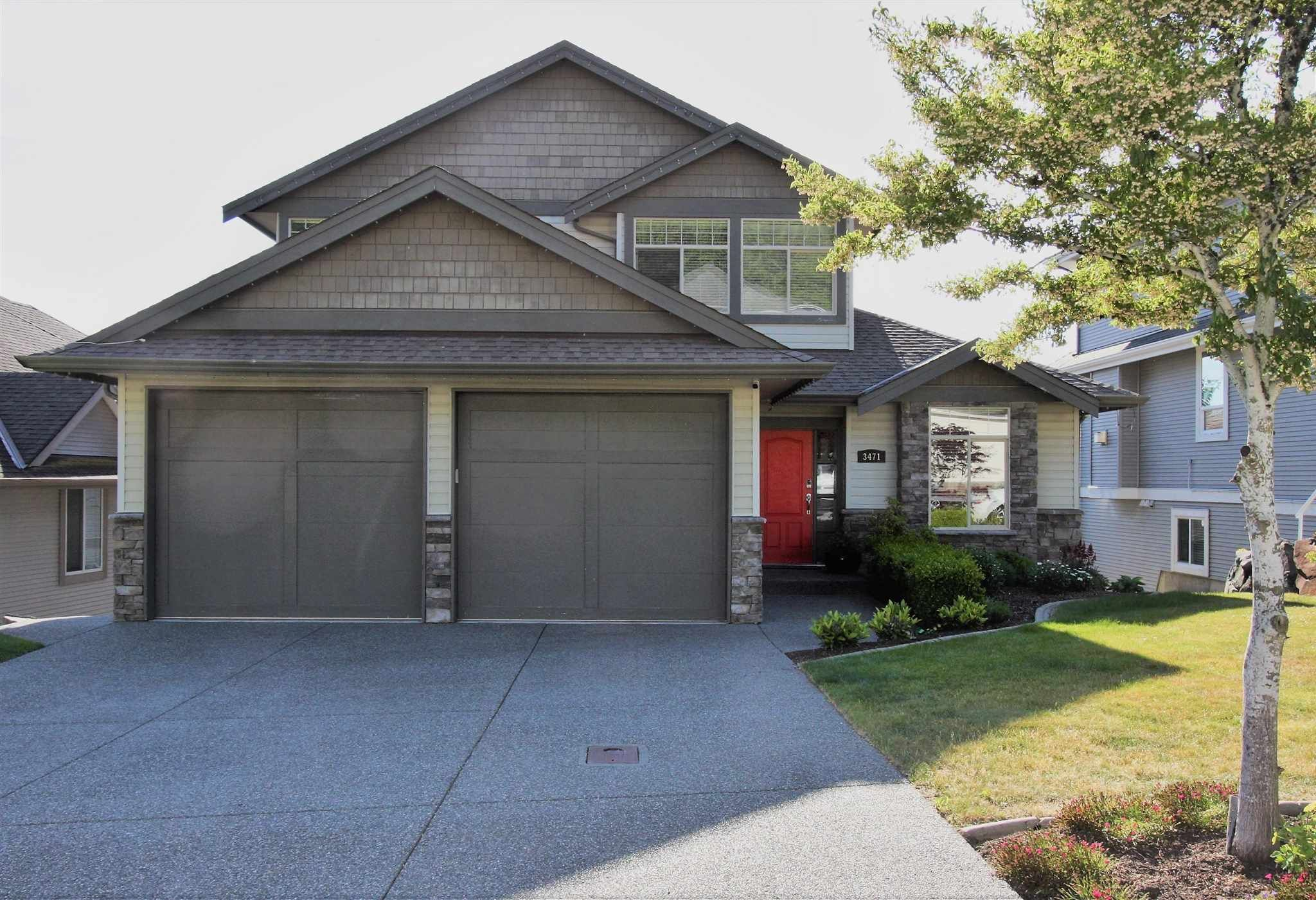 """Main Photo: 3471 APPLEWOOD Drive in Abbotsford: Abbotsford East House for sale in """"Highlands"""" : MLS®# R2596108"""