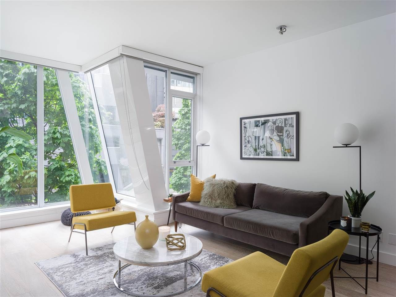 """Main Photo: 208 1477 W PENDER Street in Vancouver: Coal Harbour Condo for sale in """"West Pender Place"""" (Vancouver West)  : MLS®# R2580010"""