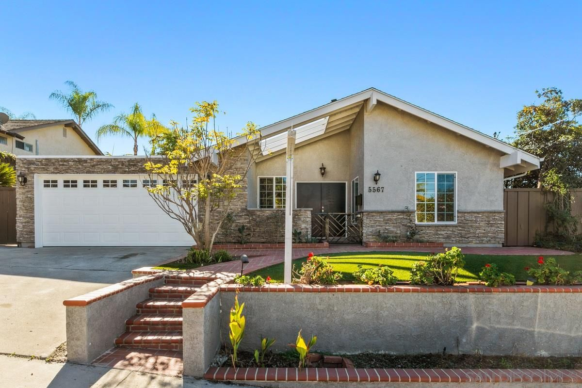 Main Photo: DEL CERRO House for sale : 4 bedrooms : 5567 Lone Star Dr in San Diego