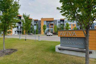 Photo 3: 235 503 Albany Way in Edmonton: Zone 27 Condo for sale : MLS®# E4211597