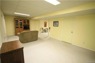 Photo 17: 205 Barlow Crescent in Winnipeg: River Park South Residential for sale (2F)  : MLS®# 1729915
