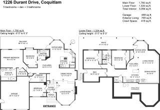 "Photo 33: 1226 DURANT Drive in Coquitlam: Scott Creek House for sale in ""Eagleridge"" : MLS®# R2577574"