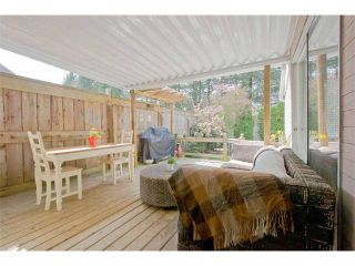 """Photo 6: 125 2721 ATLIN Place in Coquitlam: Coquitlam East Townhouse for sale in """"THE TERRACES"""" : MLS®# V1057013"""