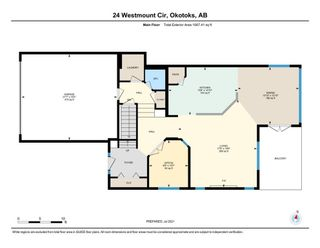 Photo 38: 24 Westmount Circle: Okotoks Detached for sale : MLS®# A1127374