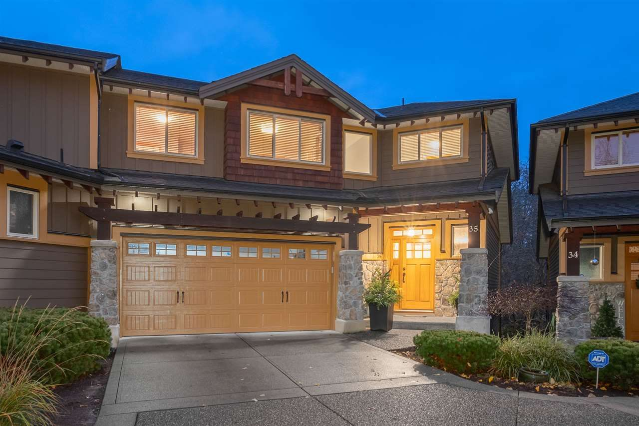 Whistler inspired Trails Edge, parking for 4 cars, and a duplex style end unit on greenbelt