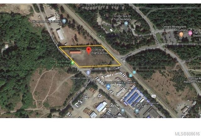 Photo 1: Photos: 1100 E Island Hwy in Parksville: PQ Parksville Mixed Use for sale (Parksville/Qualicum)  : MLS®# 808616