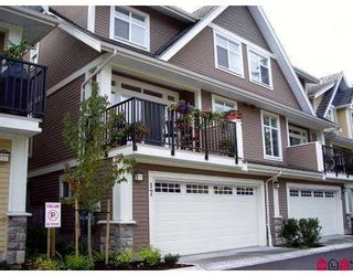 "Photo 1: 17 15237 36TH Avenue in Surrey: Morgan Creek Townhouse for sale in ""ROSEMARY WALK"" (South Surrey White Rock)  : MLS®# F2726072"