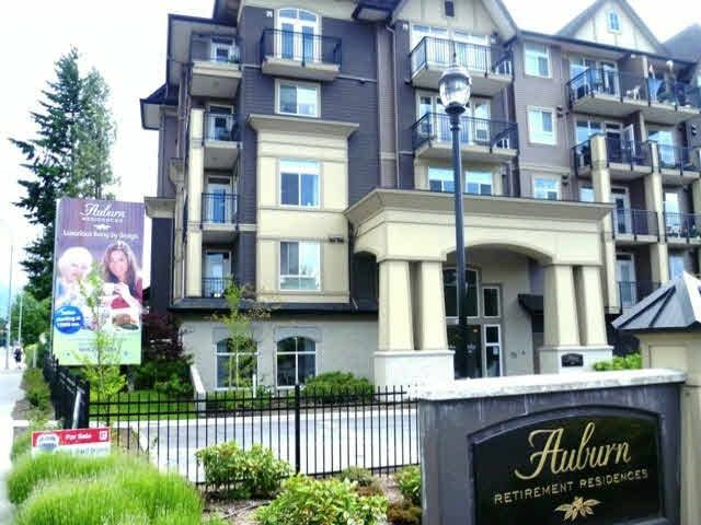 """Main Photo: 317 8531 YOUNG Road in Chilliwack: Chilliwack W Young-Well Condo for sale in """"AUBURN RETIREMENT RESIDENCES"""" : MLS®# R2473057"""