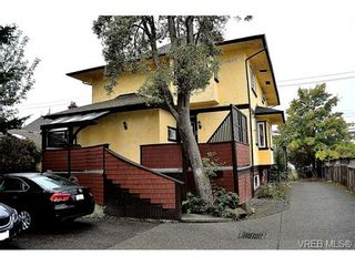 Photo 2: 2 436 Niagara St in VICTORIA: Vi James Bay Row/Townhouse for sale (Victoria)  : MLS®# 724550
