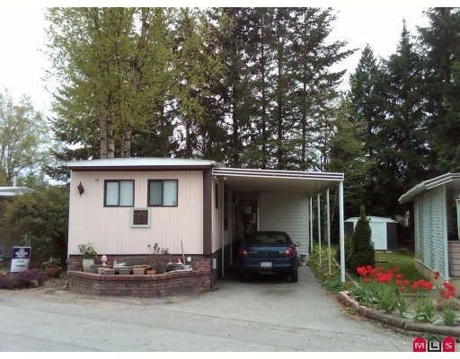 "Main Photo: 89 24330 FRASER Highway in Langley: Otter District Manufactured Home for sale in ""LANGLEY GROVE ESTATES"" : MLS®# F2925247"