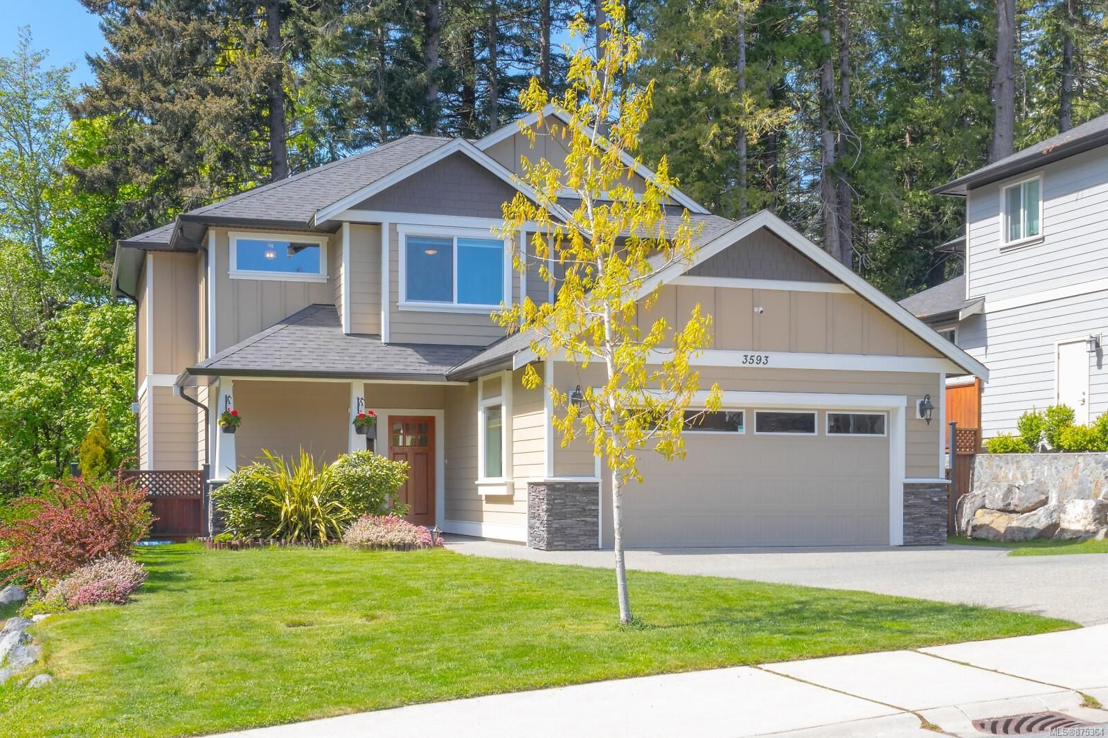 Main Photo: 3593 Whimfield Terr in : La Olympic View House for sale (Langford)  : MLS®# 875364