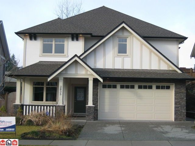 """Main Photo: 2835 BRISTOL Drive in Abbotsford: Abbotsford East House for sale in """"THE QUARRY"""" : MLS®# F1203977"""