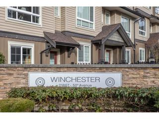 "Photo 1: 33 21867 50 Avenue in Langley: Murrayville Townhouse for sale in ""Murrayville's Winchester"" : MLS®# R2531556"