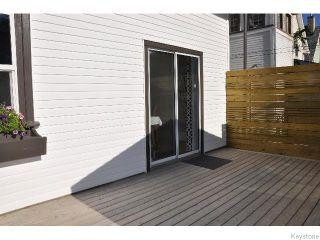 Photo 18: 784 Ingersoll Street in WINNIPEG: West End / Wolseley Residential for sale (West Winnipeg)  : MLS®# 1516601