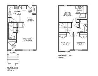 Photo 2: 25 FENWYCK Boulevard: Spruce Grove House Half Duplex for sale : MLS®# E4263498