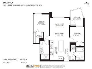 """Photo 27: 705 3096 WINDSOR Gate in Coquitlam: New Horizons Condo for sale in """"MANTYLA BY POLYGON"""" : MLS®# R2618506"""