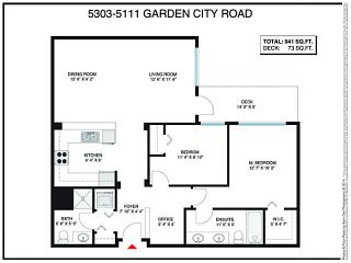 Photo 2: # 5303 5111 GARDEN CITY RD in Richmond: Brighouse Condo for sale : MLS®# V1103740