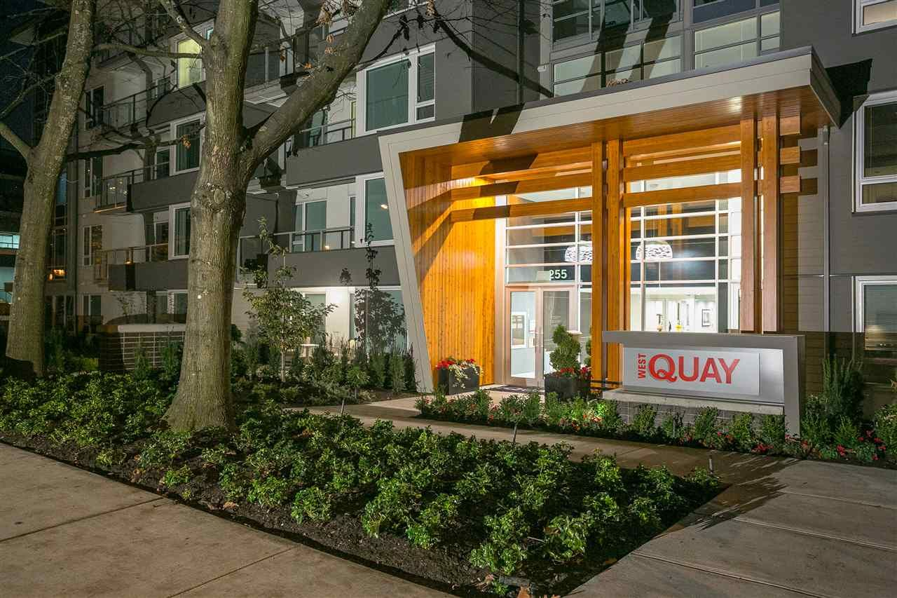"Main Photo: 122 255 W 1ST Street in North Vancouver: Lower Lonsdale Condo for sale in ""West Quay"" : MLS®# R2515636"