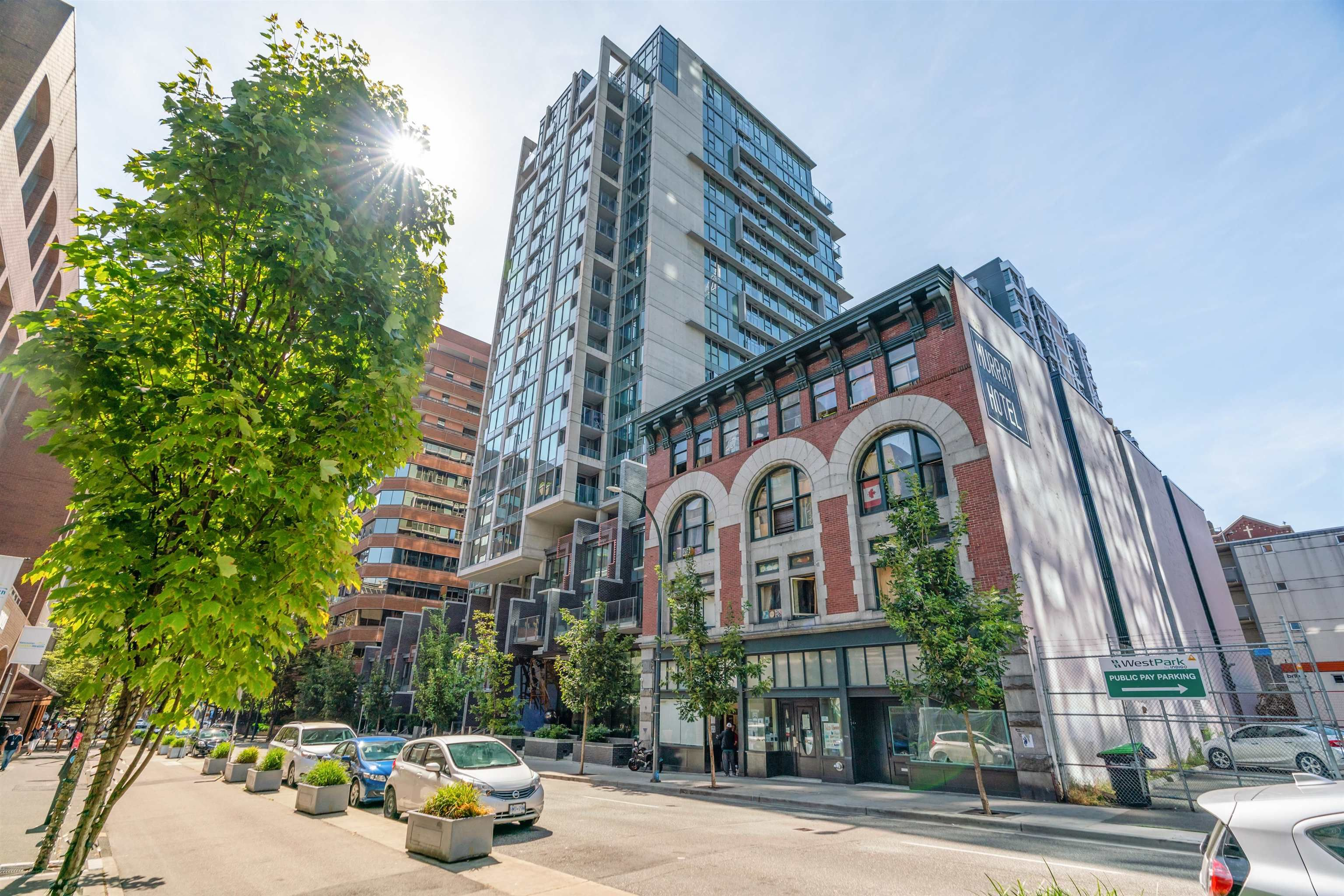 Main Photo: 501 1133 HORNBY STREET in Vancouver: Downtown VW Condo for sale (Vancouver West)  : MLS®# R2609121