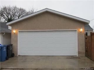 Photo 19: 377 Mandeville Street in WINNIPEG: St James Residential for sale (West Winnipeg)  : MLS®# 1530269
