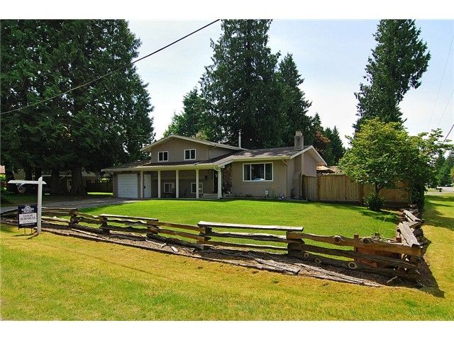 Main Photo: 4289 206TH ST in Langley: Brookswood Langley House for sale : MLS®# F1313538