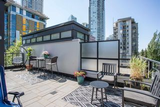 """Photo 1: 320 1255 SEYMOUR Street in Vancouver: Downtown VW Townhouse for sale in """"Elan"""" (Vancouver West)  : MLS®# R2604811"""