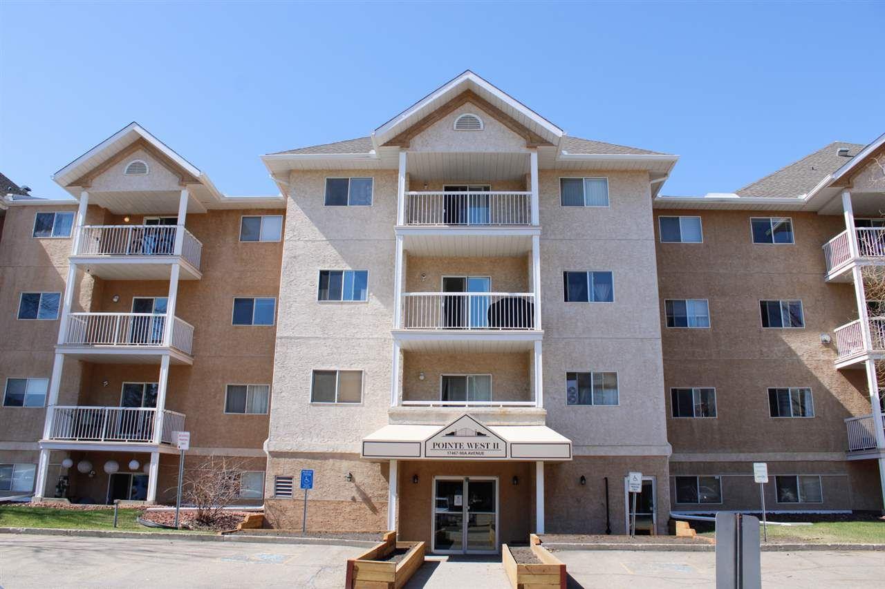 Main Photo: 307 17467 98A Avenue in Edmonton: Zone 20 Condo for sale : MLS®# E4240156