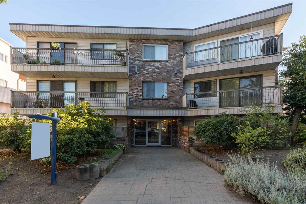 Main Photo: 102 1334 W 73RD Avenue in Vancouver: Marpole Condo for sale (Vancouver West)  : MLS®# R2487379