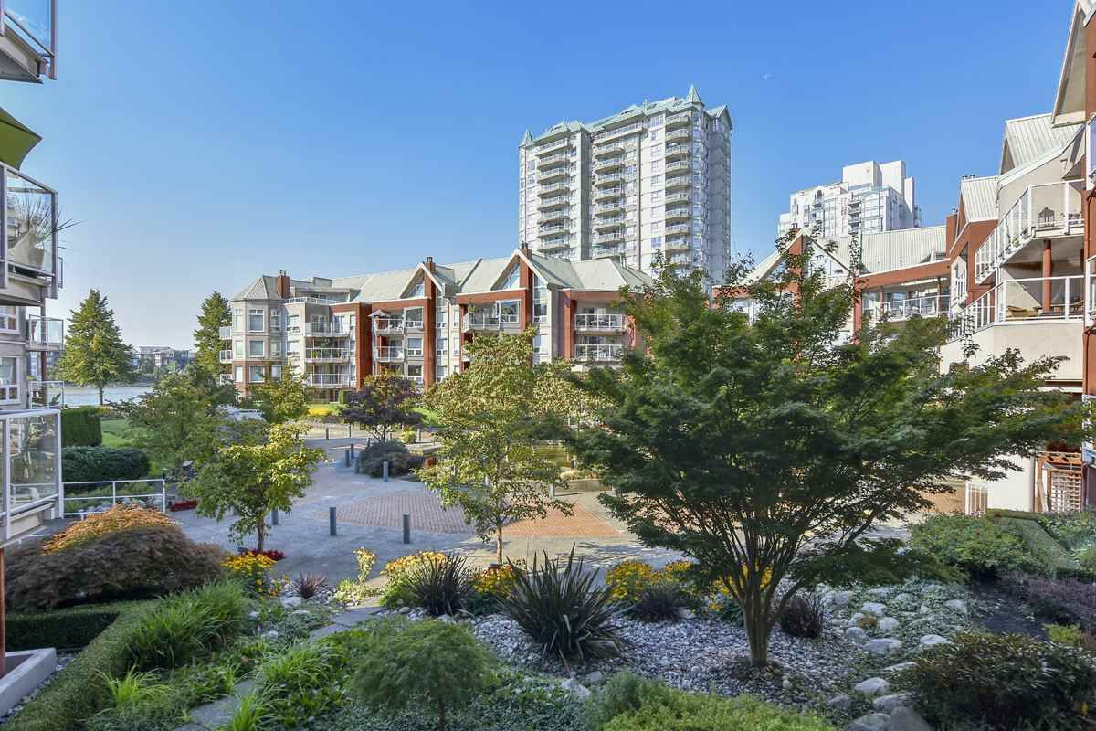 "Main Photo: 209B 1210 QUAYSIDE Drive in New Westminster: Quay Condo for sale in ""Tiffany Shores"" : MLS®# R2496028"