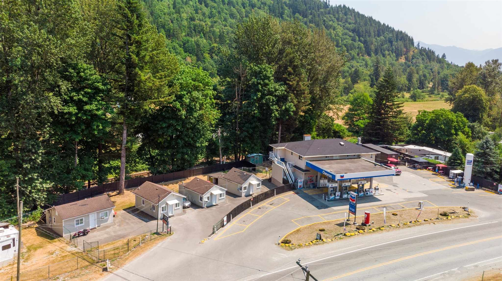 Main Photo: 43740 LOUGHEED Highway in Mission: Lake Errock Business with Property for sale : MLS®# C8039115