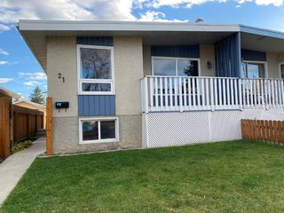 Main Photo: 21 Dovercliffe Way SE in Calgary: Dover Semi Detached for sale : MLS®# A1154164