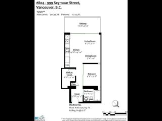 Photo 12: 804 999 SEYMOUR Street in Vancouver: Downtown VW Condo for sale (Vancouver West)  : MLS®# R2617877