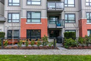 """Photo 1: 118 7088 14TH Avenue in Burnaby: Edmonds BE Condo for sale in """"REDBRICK"""" (Burnaby East)  : MLS®# R2242958"""