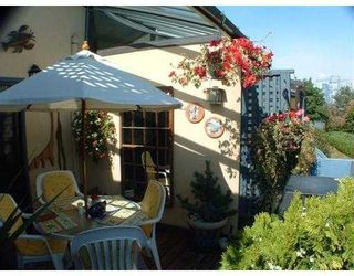 """Photo 9: 850 GREENCHAIN BB in Vancouver: False Creek Townhouse for sale in """"HEATHER POINT"""" (Vancouver West)  : MLS®# V622710"""