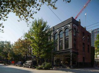"Photo 1: 7 229 CARRALL Street in Vancouver: Downtown VW Condo for sale in ""BODEGA STUDIOS"" (Vancouver West)  : MLS®# R2538077"