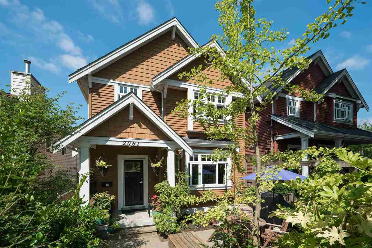 Main Photo: 2081 E 2ND AVENUE in Vancouver: Grandview VE 1/2 Duplex for sale (Vancouver East)  : MLS®# R2295269